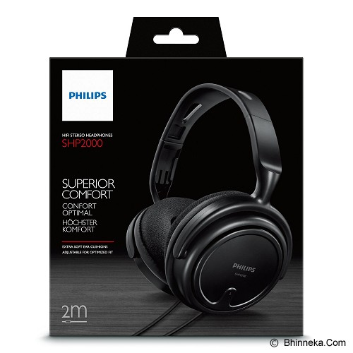 PHILIPS Headphone [SHP 2000] - Headphone Full Size